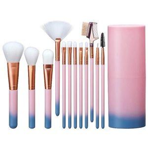 Makeup Brush Set and Storage